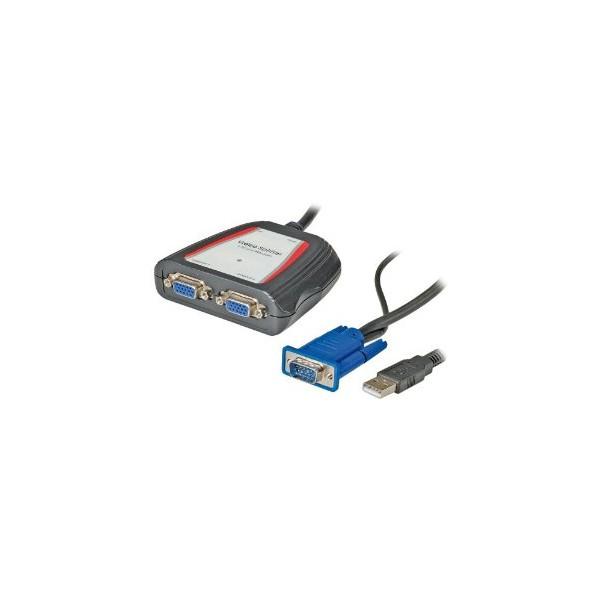 Video Splitter 2 salidas VGA
