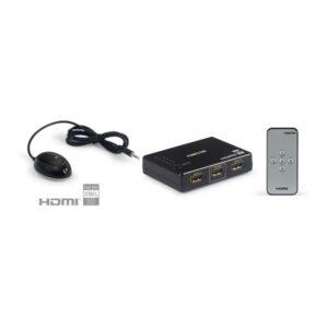 Selector HDMI 5x1 (5 entradas x1 salida) con mando